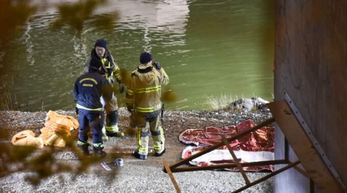 Dödsoffren i olyckan natten till lördag är brittiska medborgare, medlemmar i ett popband enligt uppgifter till Expressen. Foto: Pontus Stenberg