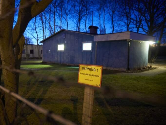 Magnus Stenbock pistolskytteklubb hade sitt klubbhus på samma adress vid tidpunkten för inbrottet som i dag. Foto: Stefan Lindblom/ Hbg-Bild