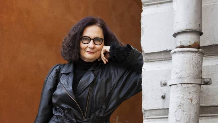 Ebba Witt-Brattström, professor i nordisk litteratur vid Helsingfors universitet. Foto: Kristoffer Wikström