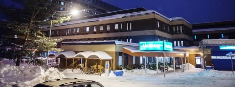 Gävle sjukhus. Foto: Samuel Unéus