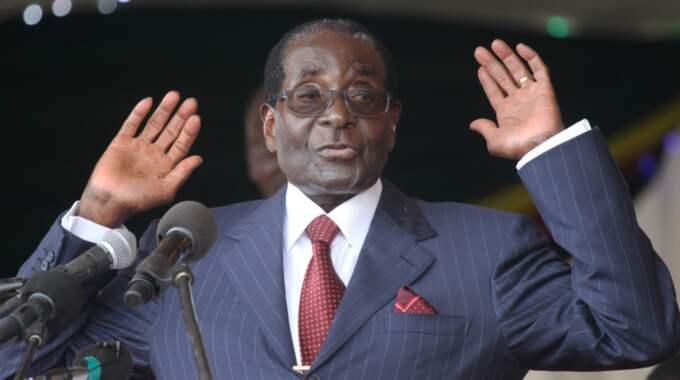 Den lyxiga födelsedagsfesten har fått kritik eftersom den anses vara en förolämpning mot den vanliga befolkningen. Foto: AP/Tsvangirayi Mukwazhi