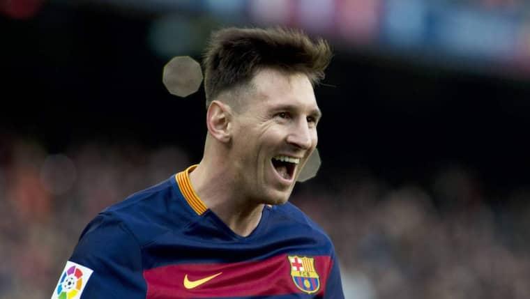 Lionel Messi ska enligt bilden vinna priset. Foto: Imago Sportfotodienst