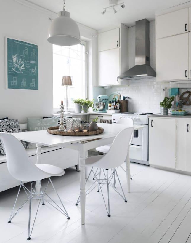 Ikea Kok Turkos : Kok i vitt och turkos  Leva & bo  Expressen