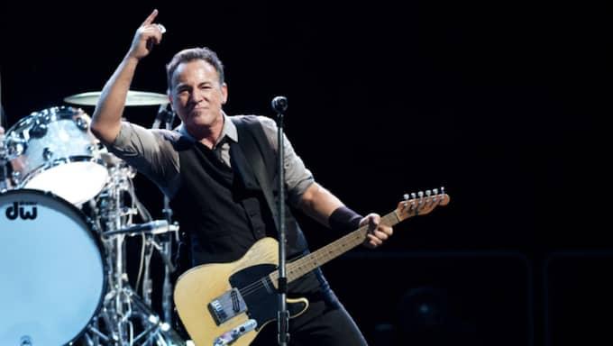 Bruce Springsteen ryktas vara klar för två Sverigespelningar. Foto: Olle Sporrong