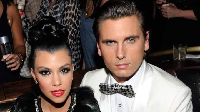 Här är Scott Disicks kärleksmeddelande till Kourtney Kardashian. Foto: Ethan Miller
