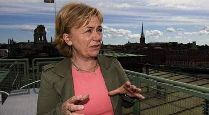 Beatrice Ask justitieminister. Foto: Roger Vikström