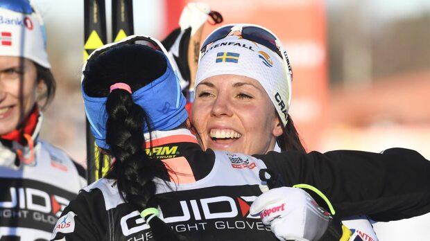 """Björgen och Kallas skrattfest: """"Charlotte trodde hon kom på 14:e plats"""""""