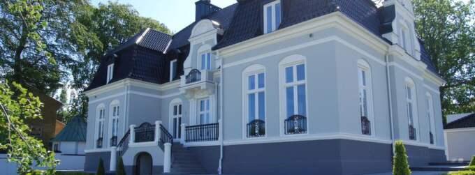 Zlatans hus står fortfarande osålt efter 335 dagar. Foto: Gisli Kristjansson