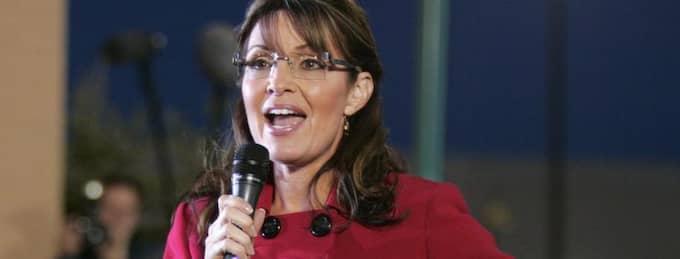 Sarah Palin. Foto: Rex Larsen