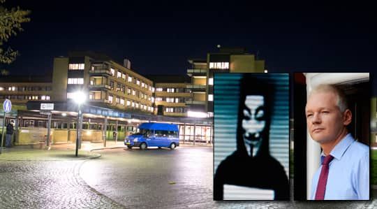 HACKADE. Sjukhusen i Trollhättan, Vänersborg och Uddevalla utsattes för dataintrång av hackergruppen Anonymous. Foto: Lennart Rehnman
