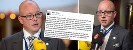 Söder får skarp kritik efter Facebookinlägg