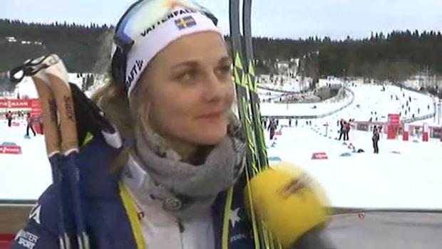 """Nilsson efter succéloppet: """"Skitnöjd"""""""