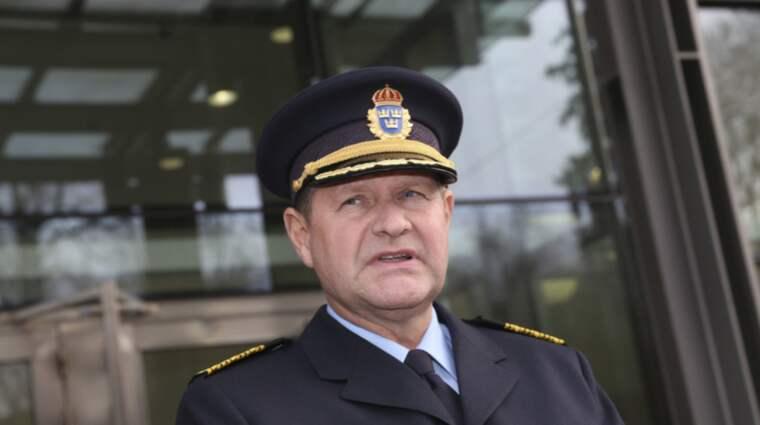 Rikspolischefen Dan Eliasson. Foto: Robert Eklund