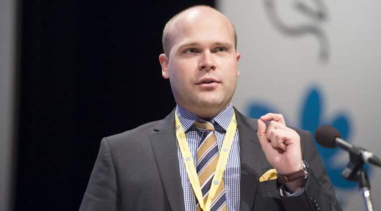 Erik Almqvist (SD). Foto: Roger Vikström