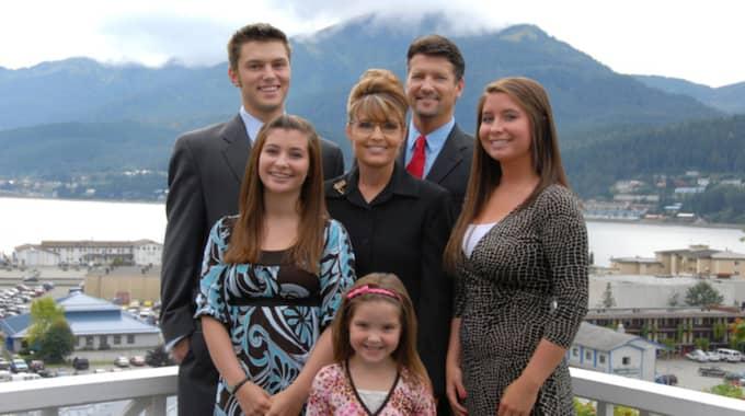 Sarah Palin blev känd som vice president-kandidat när John Mccain försökte bli amerikansk president 2008.
