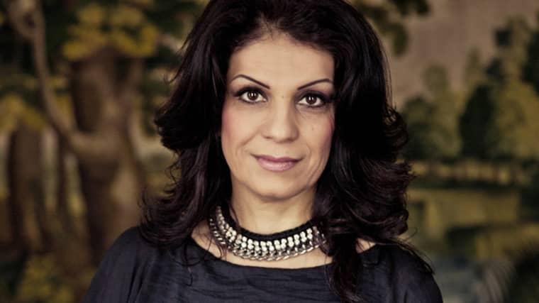 Soheila Fors, grundare av Khatoon, har bland annat skrivit boken Kärleken blev mitt vapen. Foto: Rickard L Eriksson