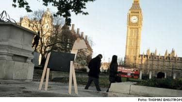 Rondellhunden är på väg ut i världen. Första anhalt: London