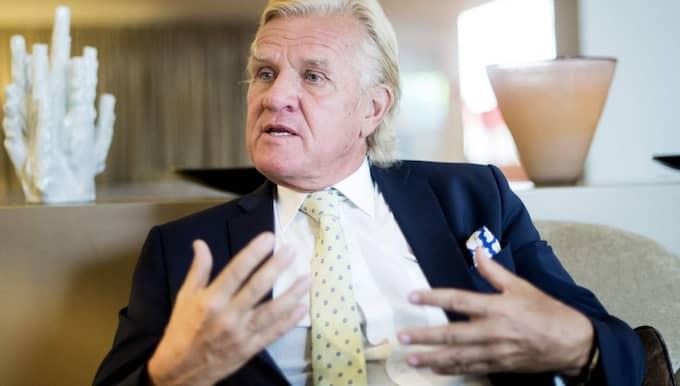 Prioritet Finans vd Nils Wiberg. Foto: Daniel Stiller / Bildbyrån