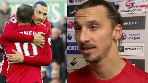 Ibrahimovics måltorka bruten - sänkte Swansea