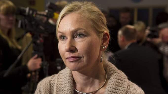 Infrastrukturminister Anna Johansson, S, pekades ut som en av de ansvariga när Uppdrag granskning förra året avslöjade brister i den ekonomiska kontrollen i samband en fastighetsmässa i Cannes. Foto: Suvad Mrkonjic