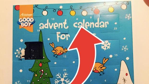 Carolinas julkalendermiss har fått alla att skratta