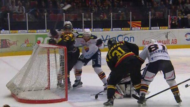 Slagsmål på isen när Djurgården vann