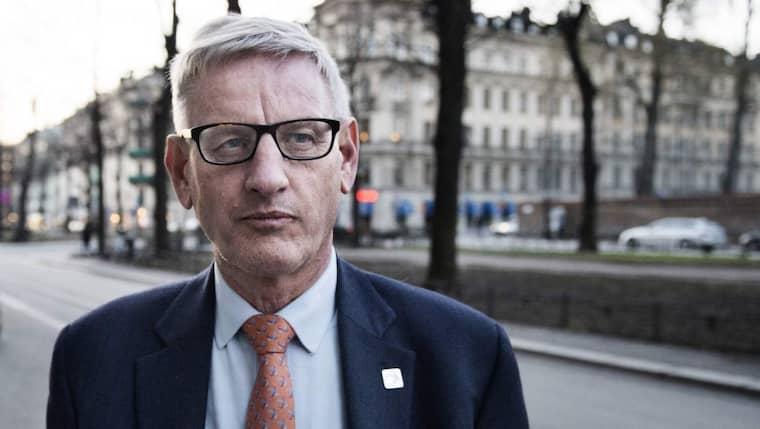 Carl Bildt kritiserar Löfven för beslutet om ID-kontroller Foto: Anna-Karin Nilsson