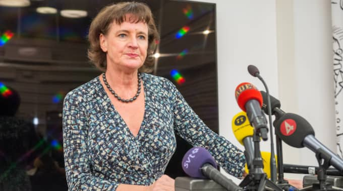Kommunals ordförande Annelie Nordström har förlorat 5 000 medlemmar. Foto: Pelle T Nilsson