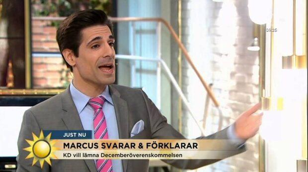 TV4 i krismöte med Marcus Oscarsson