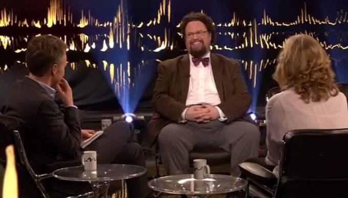 """""""Han är oerhört förtjust i anklever"""", säger Blom. Foto: SVT"""