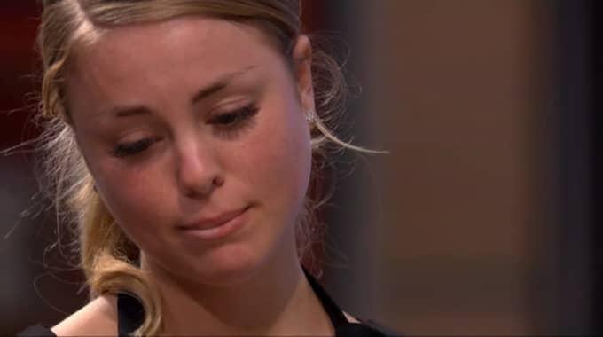 Elin Fridolfsson brast ut i tårar efter Mannerströms hårda ord.