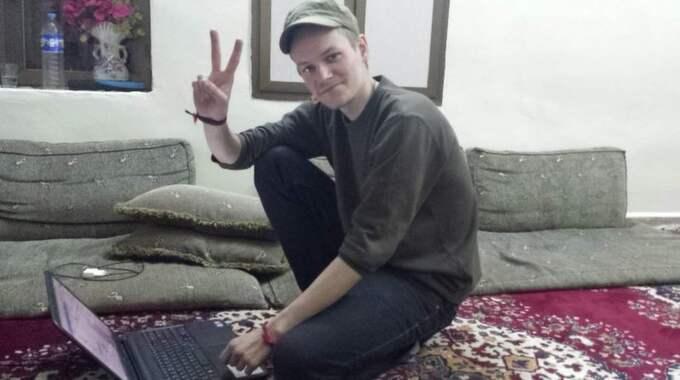 Svenska journalisten Joakim Medin har befriats från fångenskapen i Syrien. Foto: Masoud Mohammad
