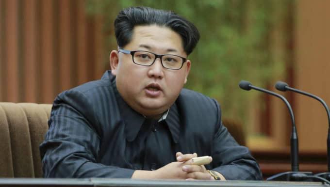 Nordkoreas ledare Kim Jong-un Foto: Rodong Sinmun / Epa / Tt