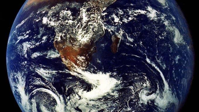 Temperaturen på jorden ökar. Foto: NASA