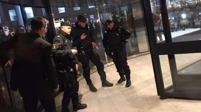 mall of scandinavia kaos