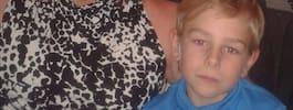 Oliver, 8, tvingades fly från clown i bostaden
