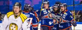 Ville Leino blev stor hjälte mot Brynäs