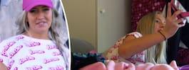 Lotte, 25, lever på att visa sin rumpa