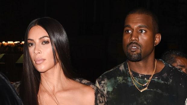 Kim Kardashian och Kanye West om skilsmässoryktet