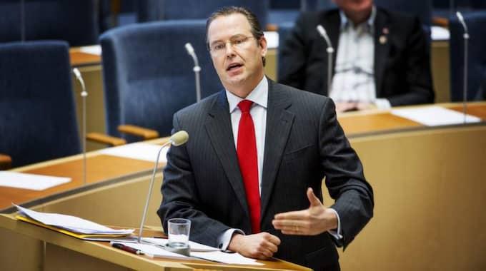 Finansminister Anders Borg säger att det i nuläget inte finns något utrymme för skattesänkningar till pensionärer. Foto: Jens L'Estrade