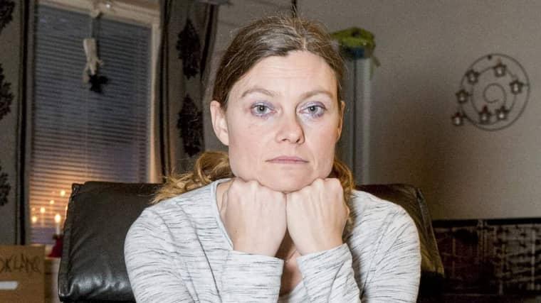 """Anna Svedberg, 38, fick biverkningar av Vitaepro: """"Jag hade fruktansvärt ont i magen"""". Foto: Ann Jonasson"""