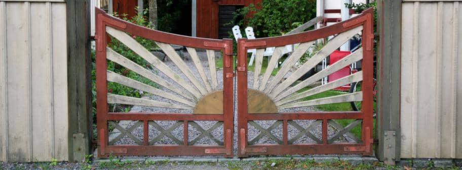 Blatt Kokskakel : blott kokskakel  Stor guide 15 inbjudande grindar Leva & bo