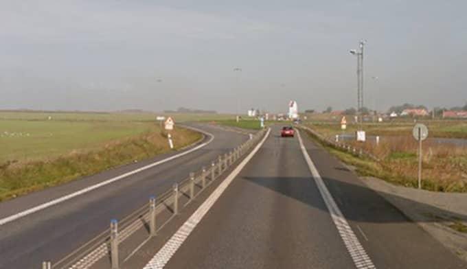 E6 mellan Maglarp och Trelleborg. Foto: Google Street View