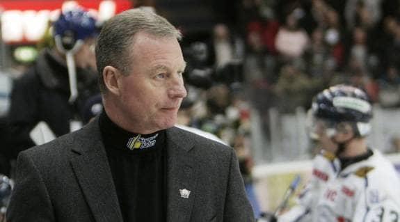 Efter SM-silvret väntar VM-jobb för Linköpings avgående tränare Janne Karlsson. Foto: Marcus Bryngelsson