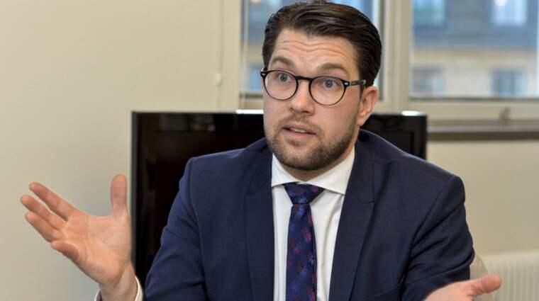 Jimmie Åkessons Sverigedemokraterna tappar i SvD/Sifos mätning Foto: Jonas Ekströmer/Tt