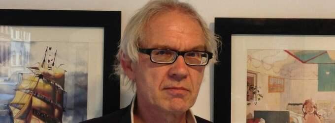 Lars Vilks är aktuell med ny utställning.