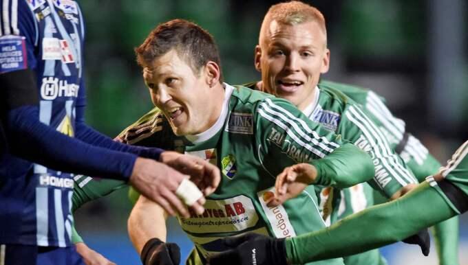 Hannes Stiller i en tidigare match. Foto: Carl Sandin