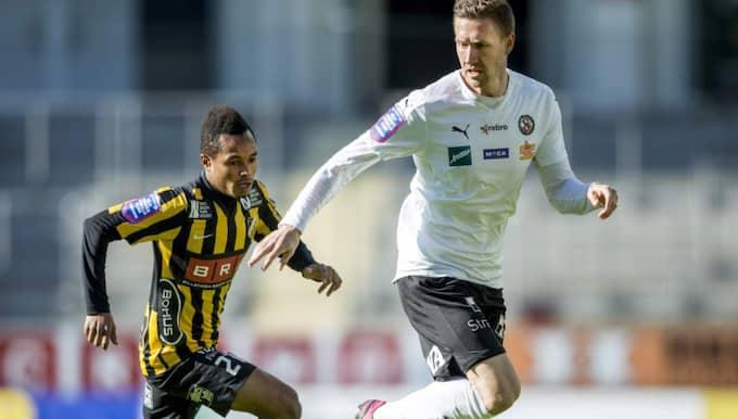 Marcus Pode, här i Örebro-tröja. Foto: Michael Erichsen