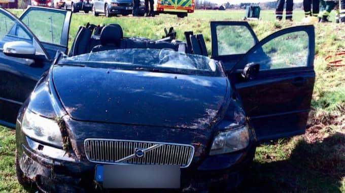 Åklagaren misstänker att Anders Månsson somnade bakom ratten. Foto: Polisen