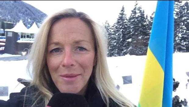 Theresa May kommer till Davos